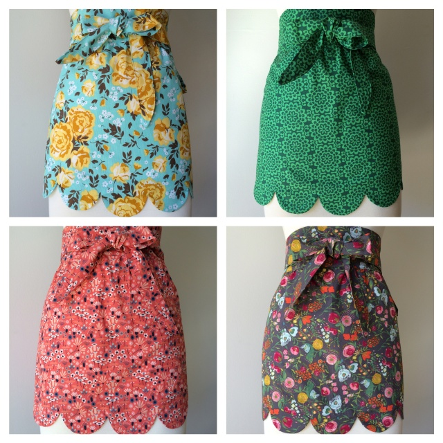 Herd of Cats Aprons April 2015